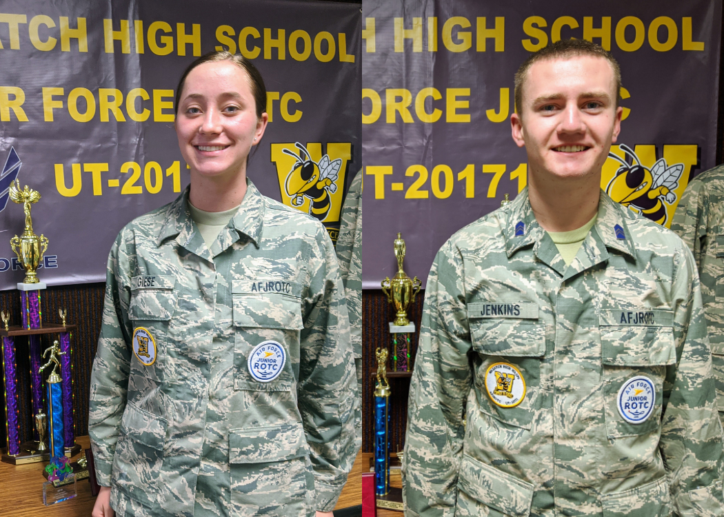 Wasatch HS Cadets Receive Air Force Junior ROTC Flight Academy Scholarship