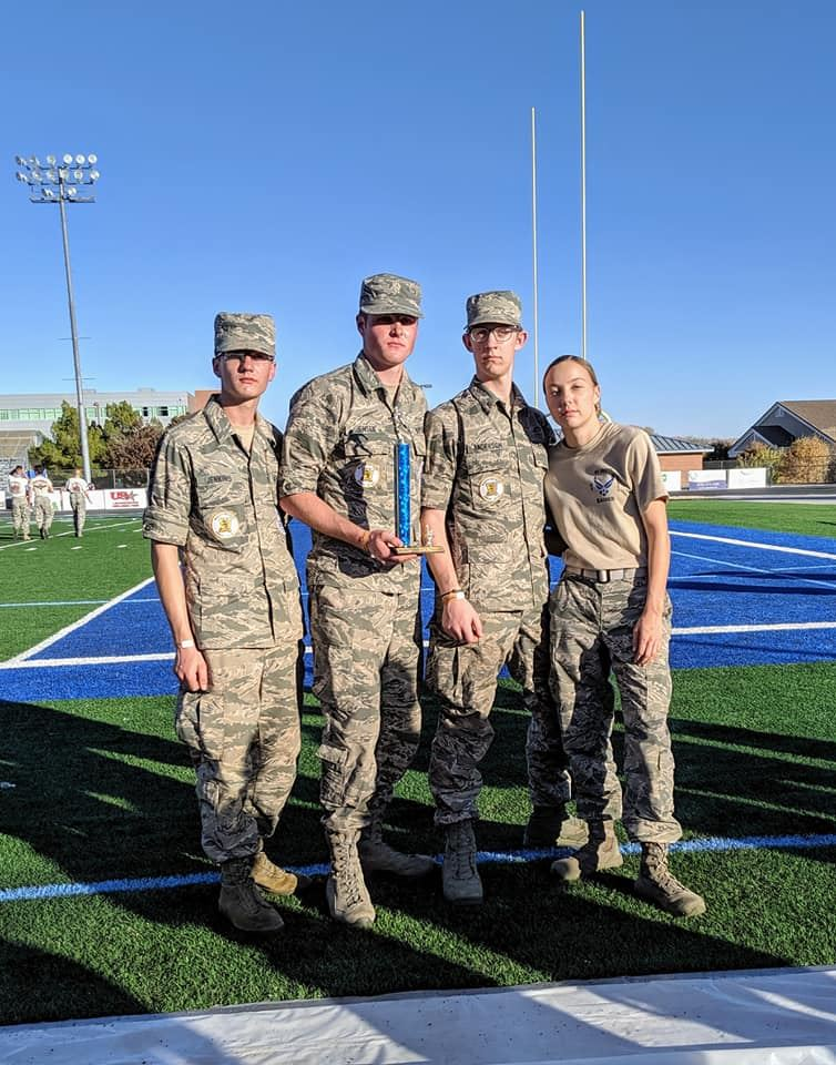 Wasatch AF JROTC Cadets Win in St. George