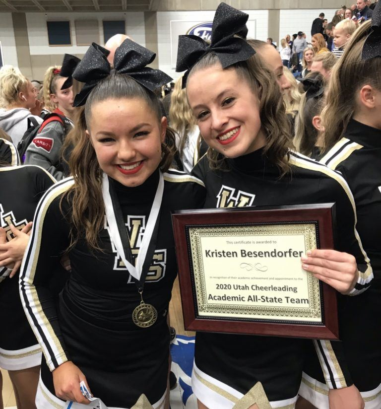 It's a SWEEP! WHS Cheerleaders claim three 5A state titles