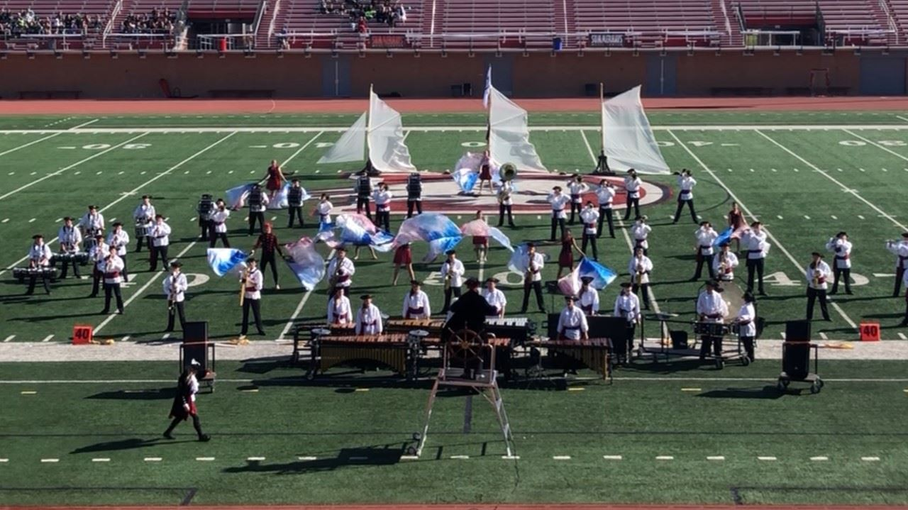 WHS Marching Band Finishes Season on a High Note
