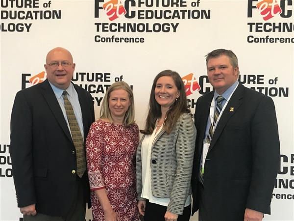 WCSD Presents at Future of Education Technology Conference