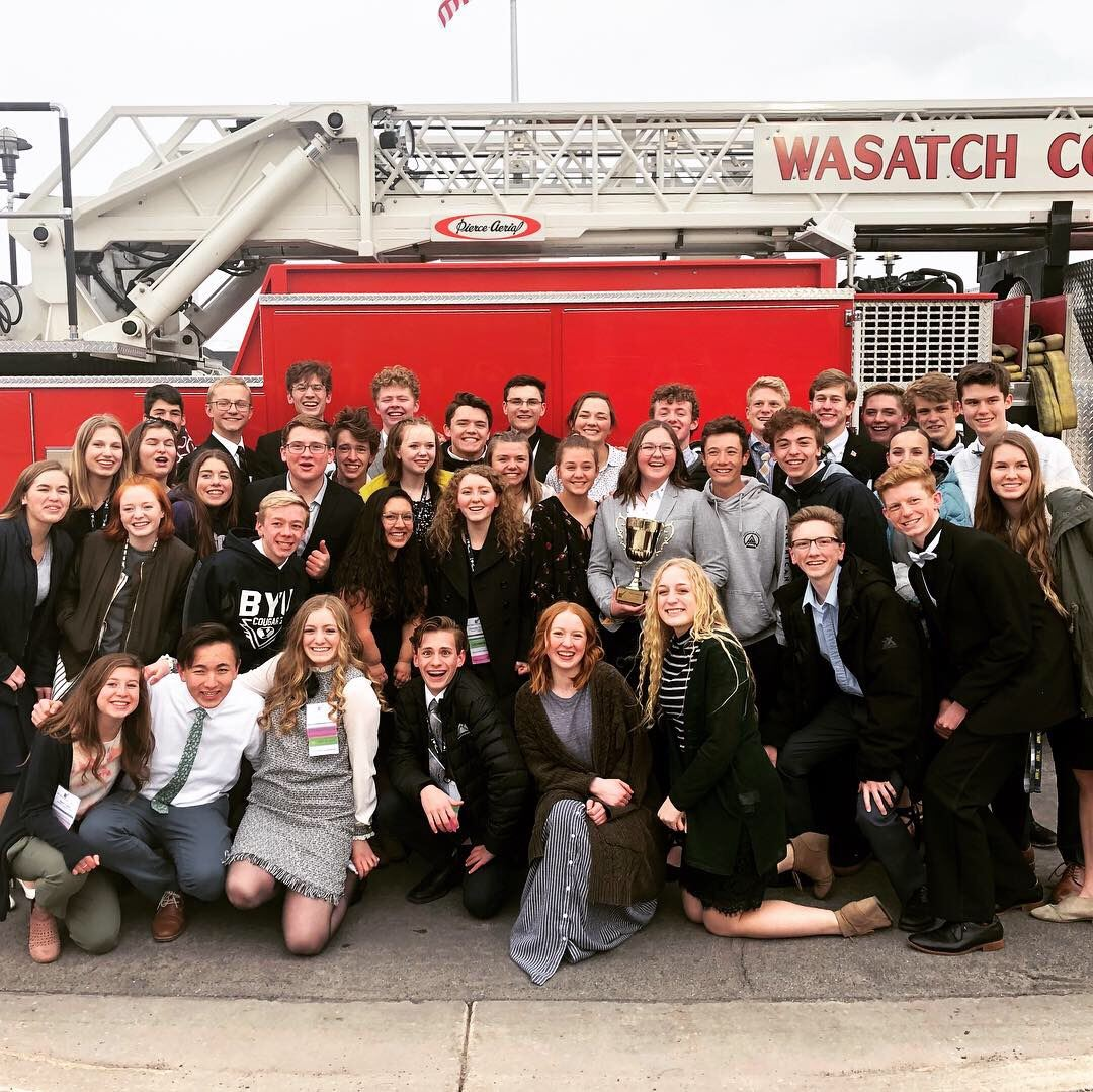Wasatch High School FBLA Earns 10th Straight State Title