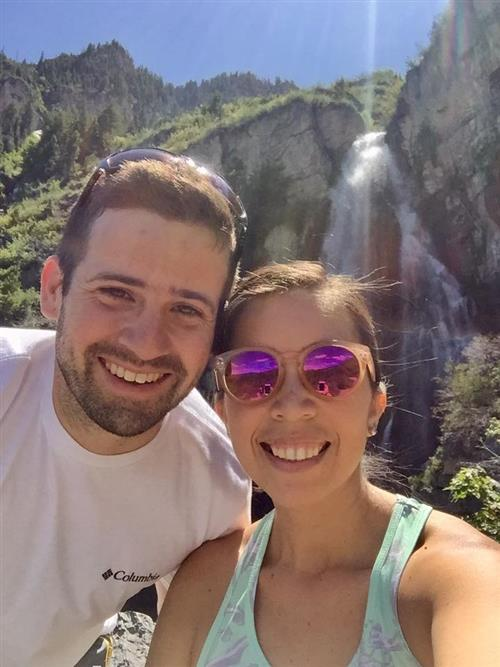 Mr. and Mrs. Keane enjoying Utah