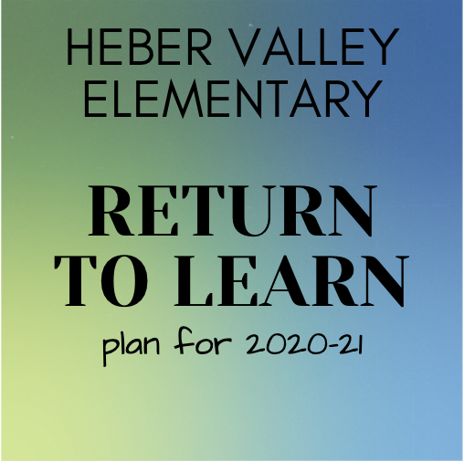 HVE's Return to Learn Plan
