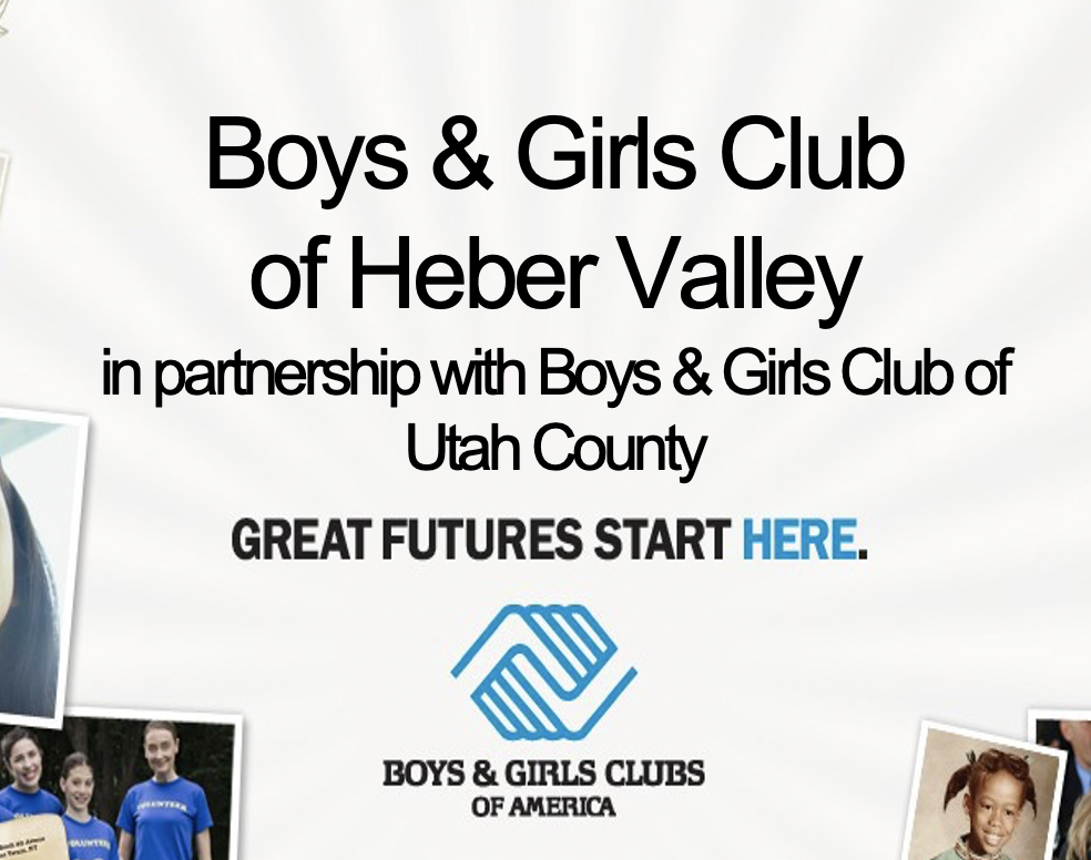 Boys and Girls Club of Heber Valley Application