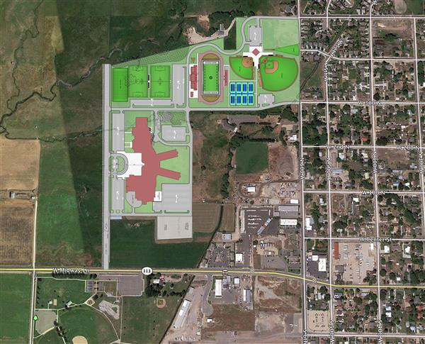 Information Regarding the Land for the Proposed High School from Berg Engineering