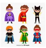 Internet Safety Superheroes