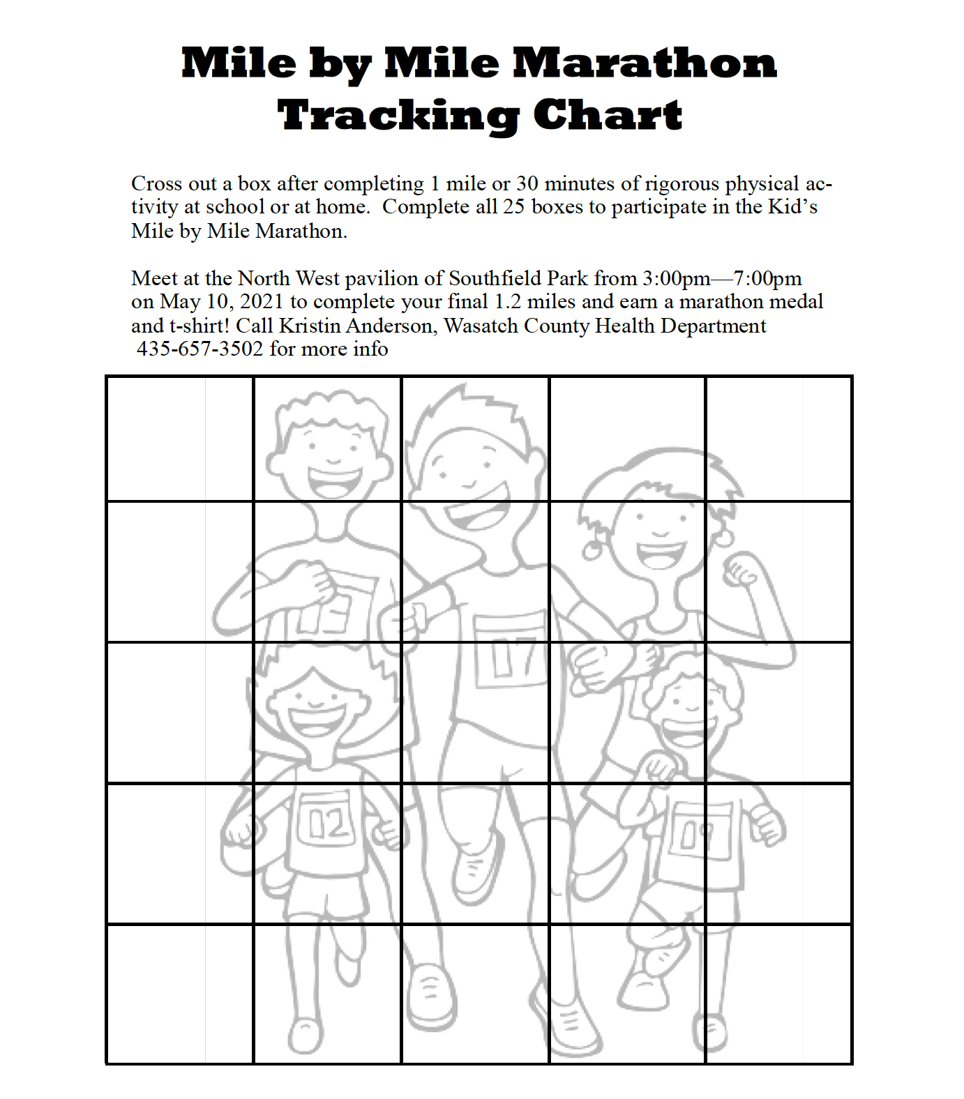 Tracking Chart