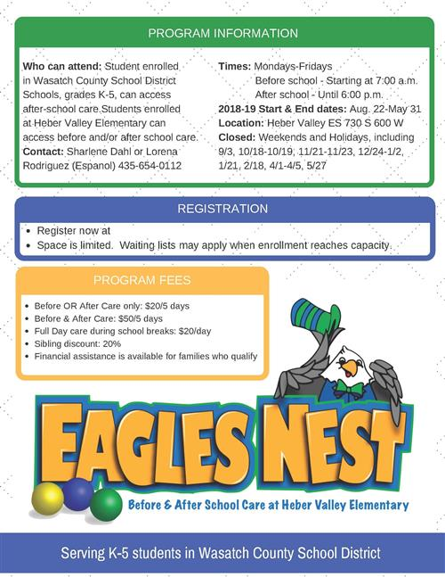 Eagles Nest Info