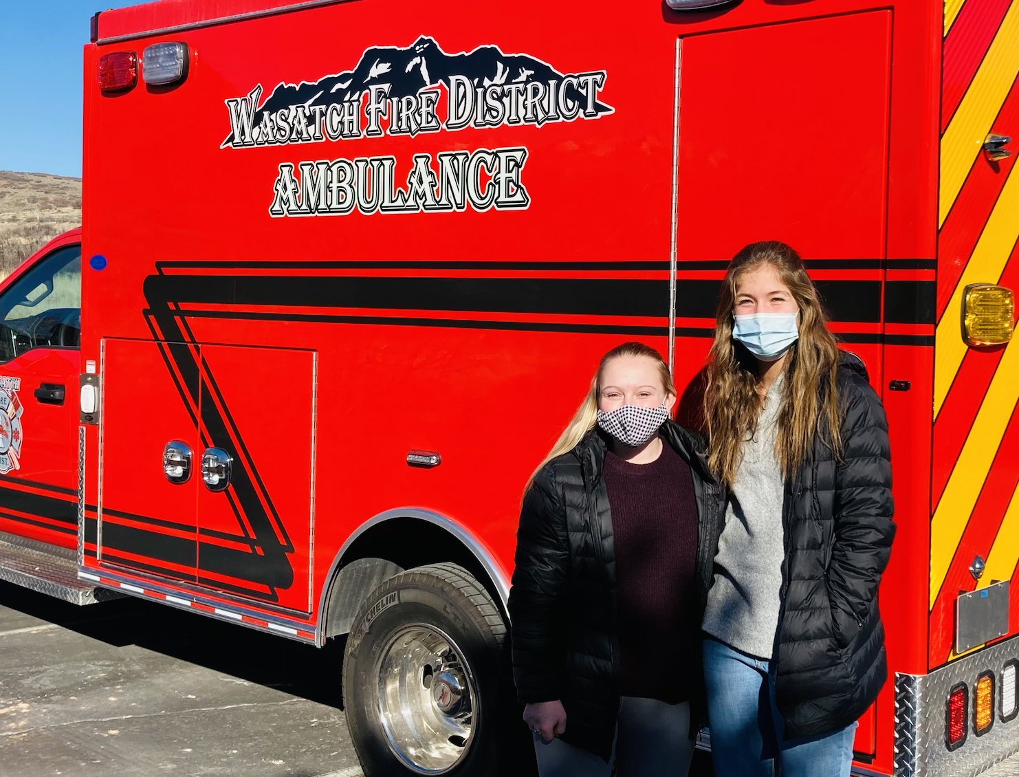 Wasatch CAPS Students Design New Ambulance Wrap