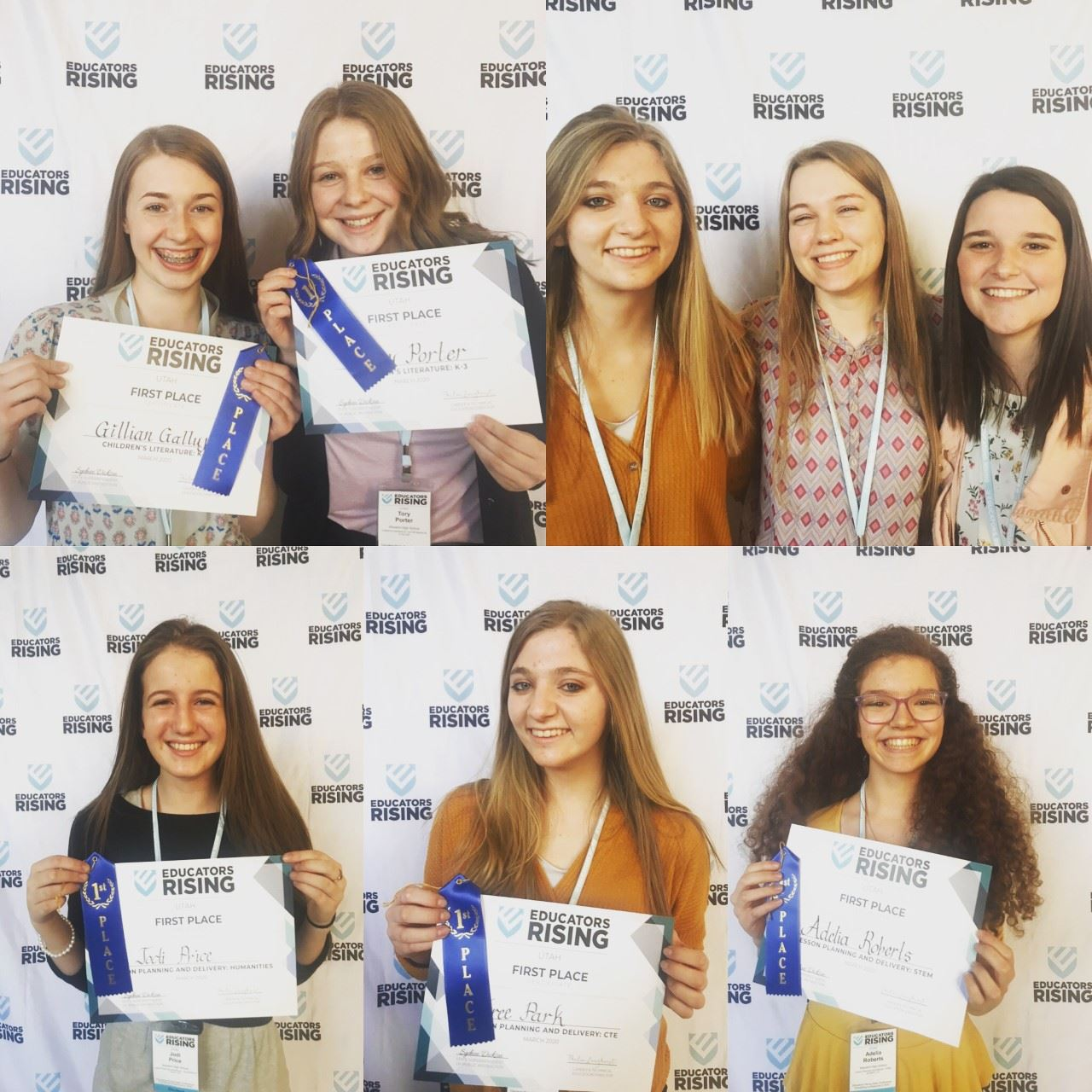 Wasatch Students Sweep at Educators Rising State Competition