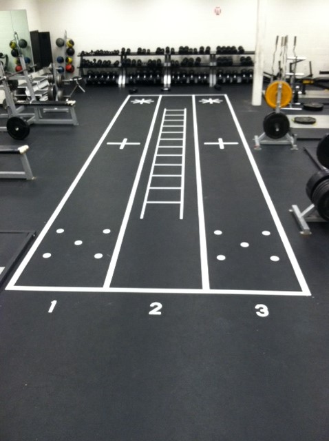 New Weight Room Design